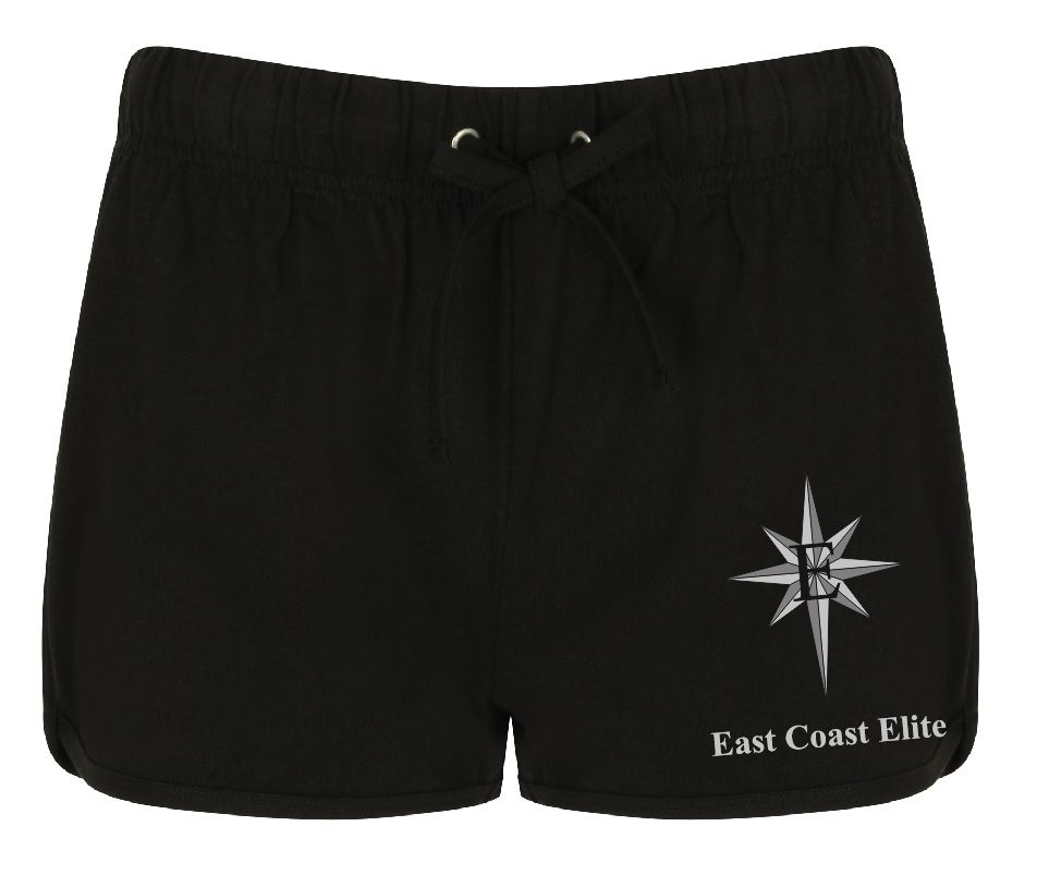 East Coast Elite Ladies Retro Shorts - SK069
