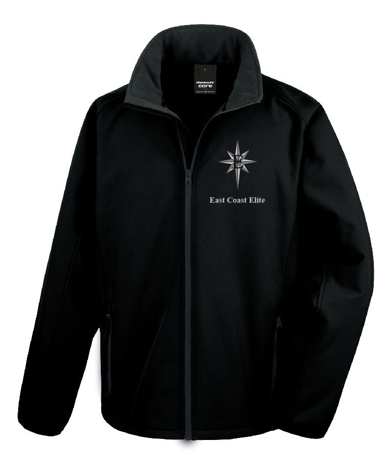 East Coast Elite Mens Softshell Jacket - R231M