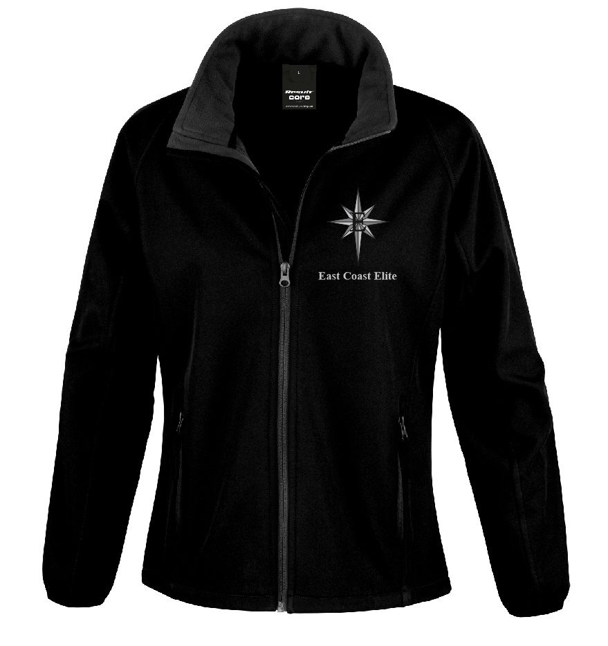 East Coast Elite Women's Softshell Jacket - R231F