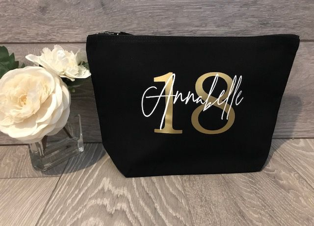 Personalised Accessory Bag  Birthday WM540