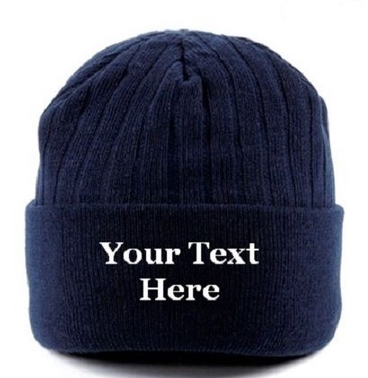 2d4d91f5eab Personalised Beanie Thinsulate Woolly Winter Hat - Beechfield BC447