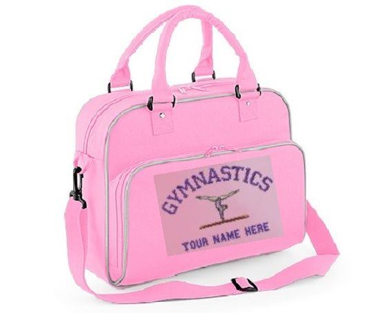 69198d0d1f Personalised Gymnastics Bag - BG145 BagBase