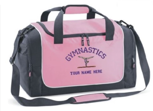 e8feb0430bbd Personalised Gymnastics Holdall - QS077 Quadra