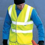 WD045 Highway Safety Waistcoat